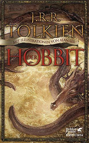 Der Hobbit: oder Hin und zurück. Mit Illustrationen von Alan Lee.