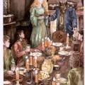 Hobbits bei Tom Bombadil und Goldbeere