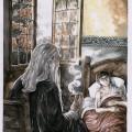 Frodo und Gandalf in Bruchtal