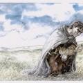 Aragorn sucht nach Merry und Pippin