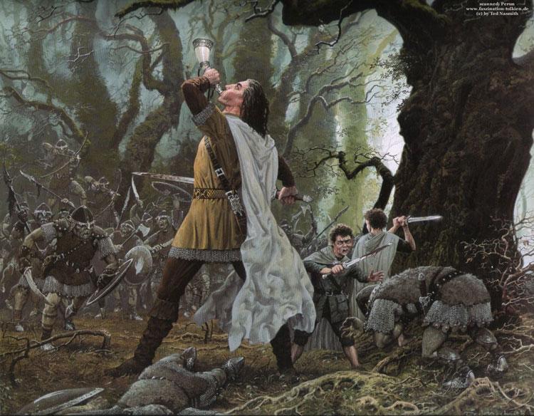 Die Zwei Turme 2 Teil Von Herr Der Ringe Faszination Tolkien