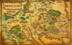 Die Karte von Breeland