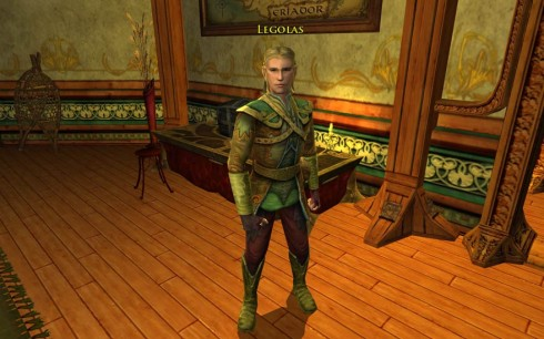 Legolas in Herr der Ringe Online, © by Turbine