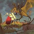 Eowyn kämpft gegen den Nazgul