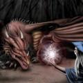 Ganadalf und der Drache