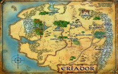 Karte von Eriador
