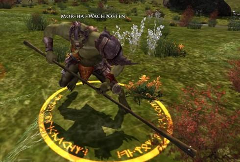 Ein Ork in Herr der Ringe Online