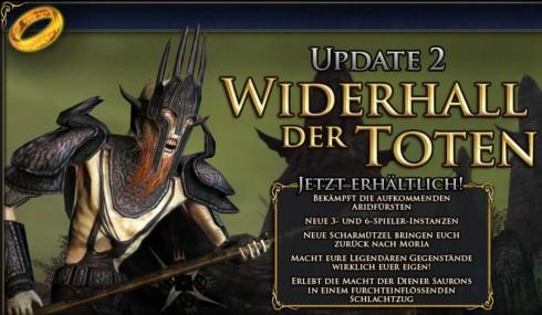 Update 2: Widerhall der Toten (© by Turbine, Herr der Ringe Online)