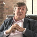 "Stephen Fry (Freedom Fry — ""Happy birthday to GNU"" film crew)"