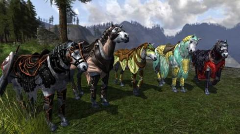 Herr der Ringe Online: Pferde in Rohan