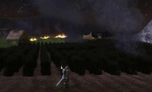 Herr der Ringe Online: Rohan brennt (© by Turbine, Herr der Ringe Online)