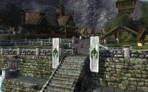 Herr der Ringe Online: Rohan, Stadt des Waldmeisters (© by Turbine, Herr der Ringe Online)
