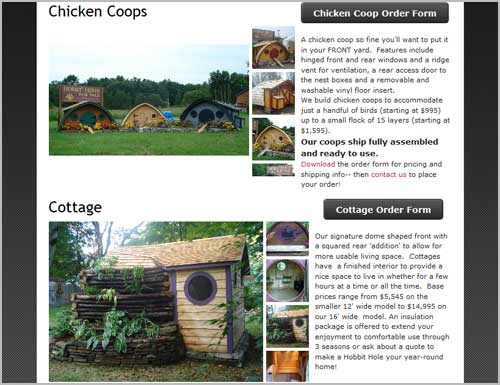 Hobbit Hütte bzw. Häuschen kaufen