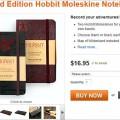 Hobbit-Notizbuch von Moleskine