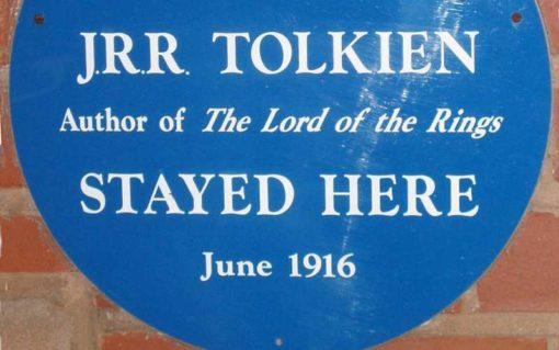 """""""J. R. R. Tolkien blieb hier"""", Bild Wikipedia"""