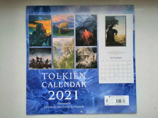 Tolkien-Kalender 2021 (Rückseite)