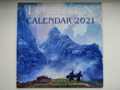 Tolkien-Kalender 2021 (Vorderseite)